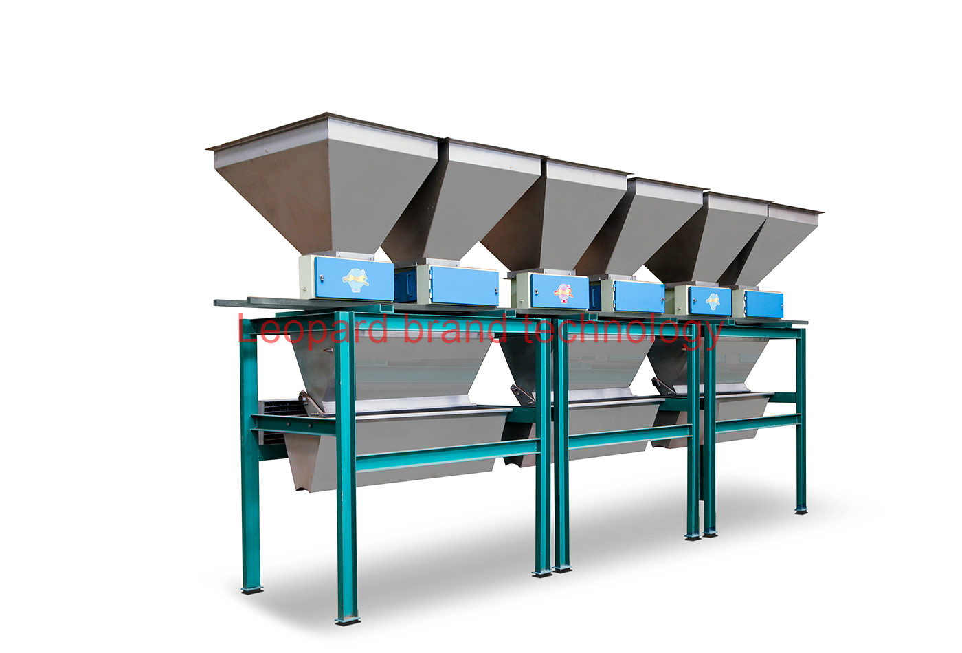 Automated BB fertilizer mixing line